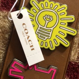 Coach Other - Coach Keith Haring Pin Collection Keychain